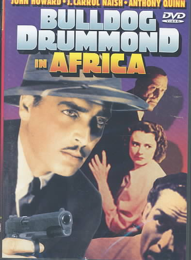 BULLDOG DRUMMNOND IN AFRICA BY HOWARD,JOHN (DVD)